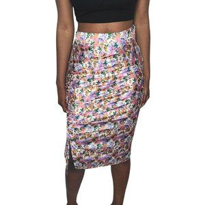 Outrageous Fortune Floral Print Skirt